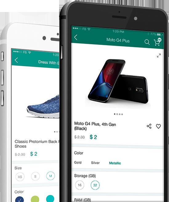 online store mobile app development
