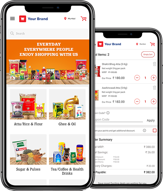 grocery mobile app development
